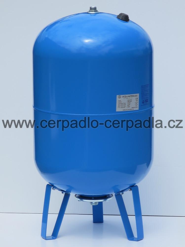 AQUAPRESS AFCV 100 (tlaková nádoba, vertikální, Aquamat, AKCE DOPRAVA ZDARMA, tlakové nádoby Aquapress AFCV 100)