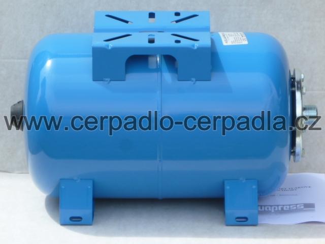 AQUAPRESS AFC 24 SB, tlaková nádoba, horizontální, AQUAMAT (tlakové nádoby pro domácí vodárny, AQUAPRESS AFC 24 SB)