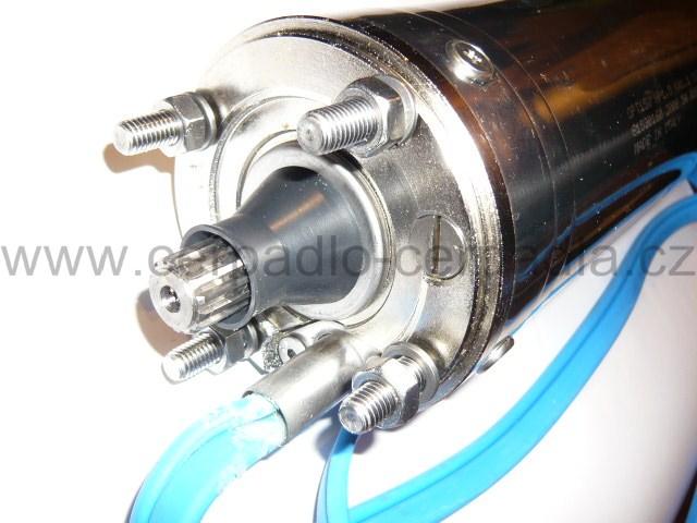 """Motor FRANKLIN 4'' 3F - 1,1kW 380V pro 1""""EVFU-16-8-GU-080, motor 4"""" (Franklin Motor)"""