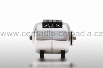 AQUAPRESS AFC 24 SB INOX, nerez tlaková nádoba, ležatá (tlakové nádoby Aquapress AFC 24 SB nerez)