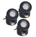 PL 1-3 LED jezírkové reflektory Aquacup (PL 1-3 LED, vodní světlo)