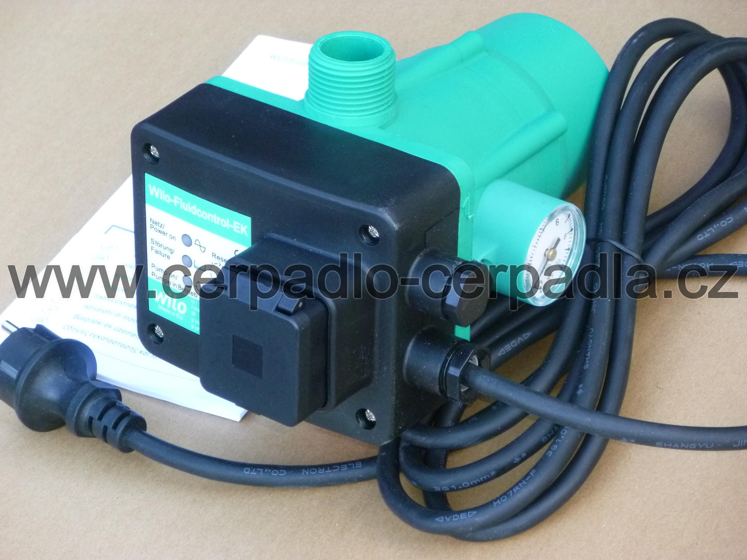 Fluidcontrol EK, WILO, hydrostat pro čerpadlo, 4084035 (WILO Fluidcontrol EK)