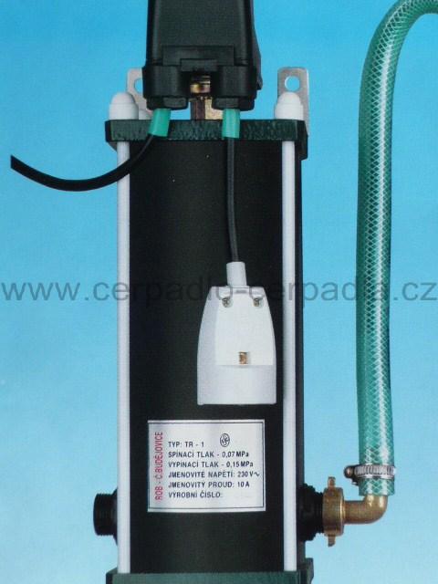 ROB-2 tlaková regulace ROB TR-1 verze 1,5 ( 0,07 / 0,15 MPa do 30m ) (Tlaková regulace ROB TR 1,5 pro čerpadla malyš)