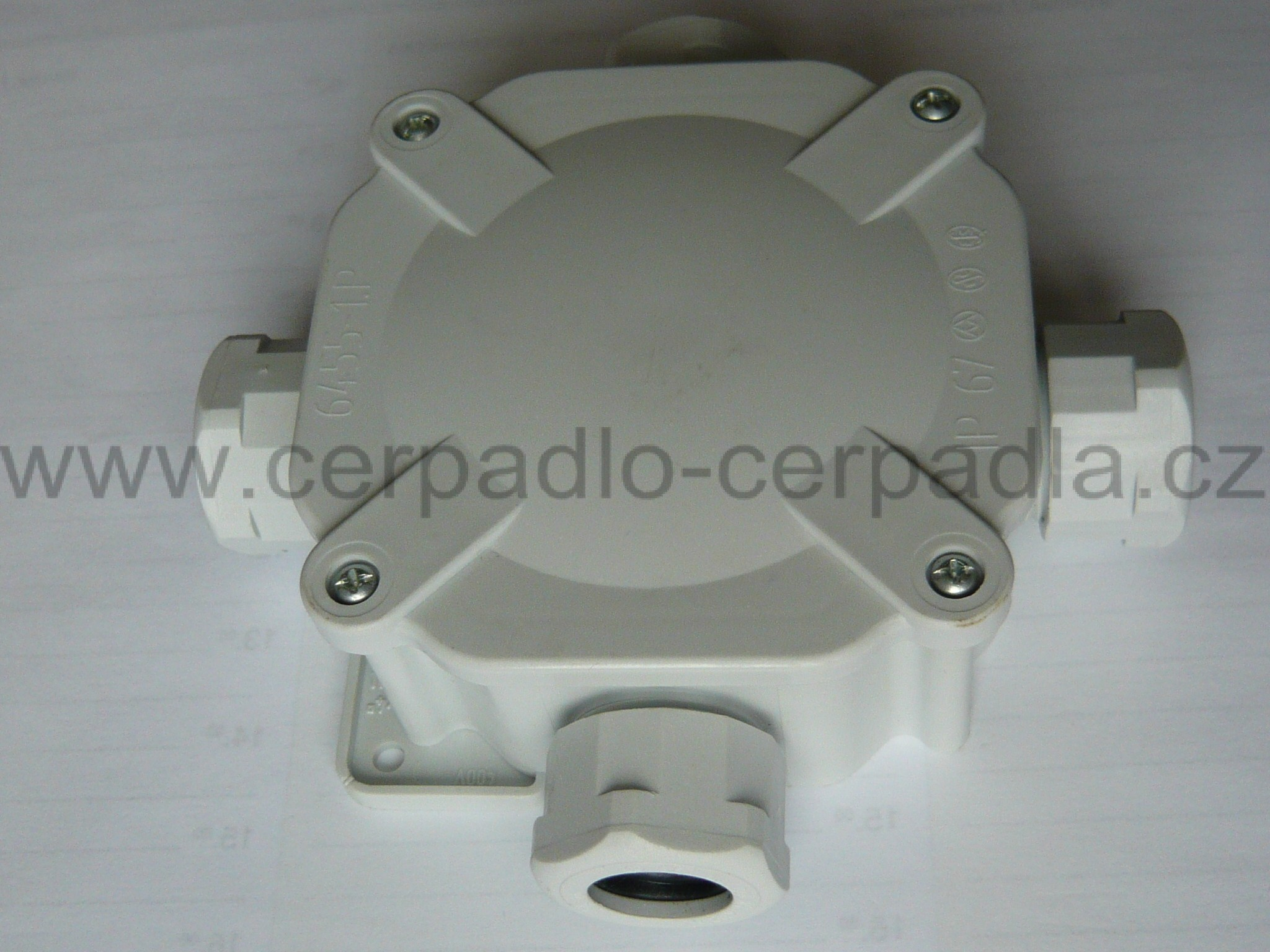 Acidurka 6455-12 , 1P , IP 67, Krabice malá Rozvodka SEZ - CZ (Rozvodka malá)