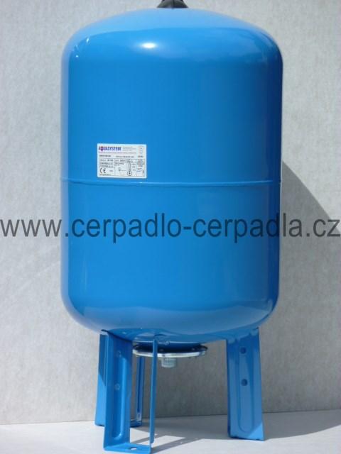 tlaková nádoba Aquasystem VAV 80 (VAV 80, tlakové nádoby, nádrž pro domácí vodárnu)