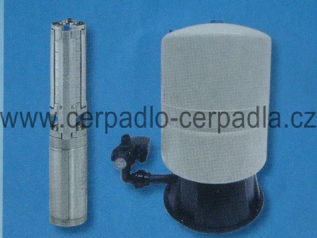 Grundfos Ponorné čerpadlo SP 2A-18 + Vodárenský set 60 l + 30 m kabel, 98163256 (ponorná čerpadla, Grundfos SP 2A-18)
