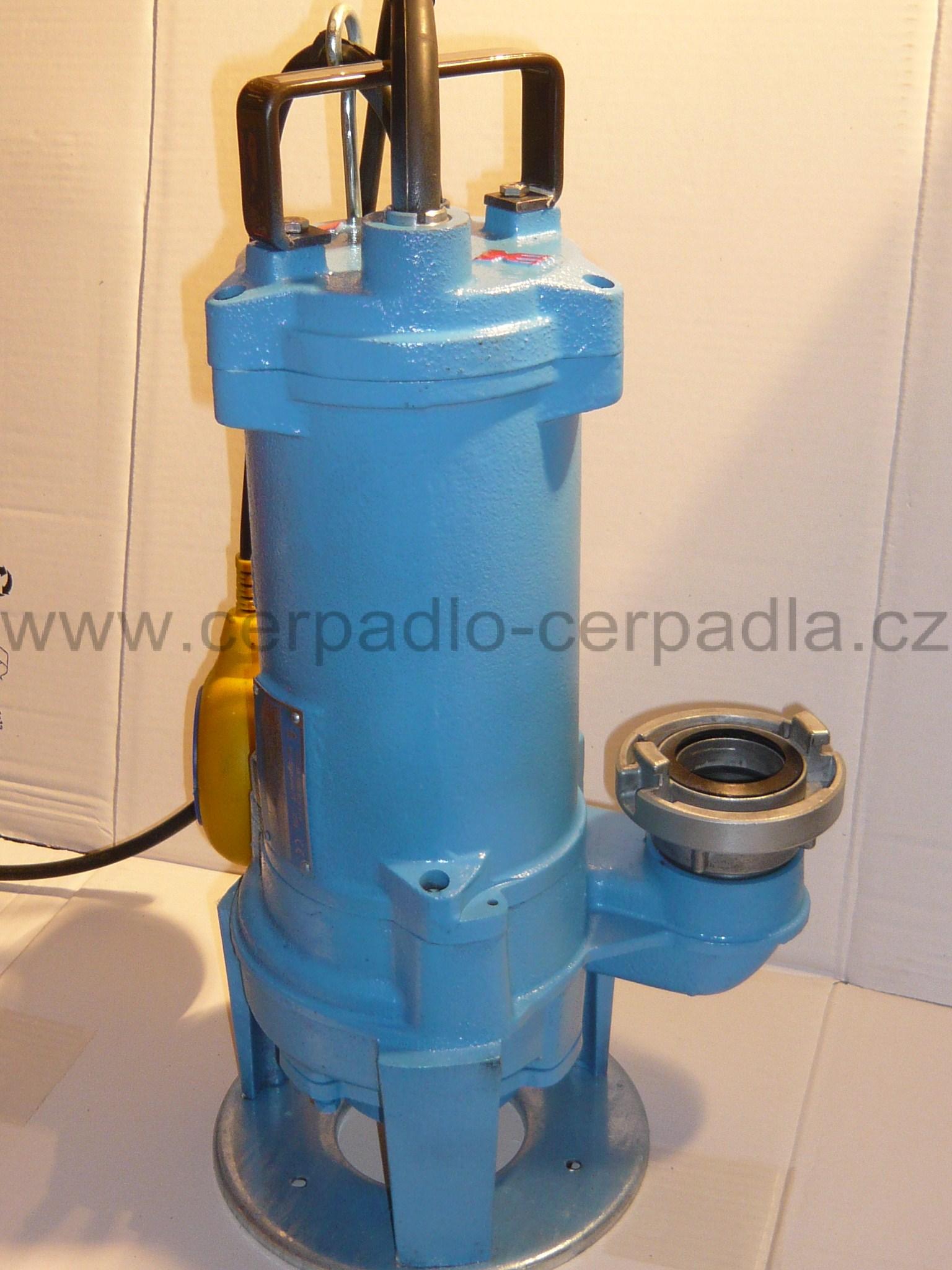 50-GFLU (SZ) 230V s plovákem, SIGMA, kalové čerpadlo, přírubové (SIGMA 50-GFLU (SZ) 230V, kalové čerpadlo, kalová čerpadla, Sigma, GFLU-00002)