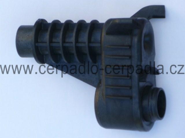 WILO Jet WJ 401 H.T., injektor, venturi, černá, pro čerpadla, 2865590 (WILO Jet WJ 401, injektor)