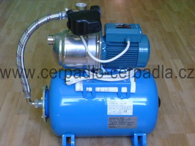Calpeda NGXM 2 24l ležatá 230V, domácí vodárna (Calpeda NGXM 2 24l)