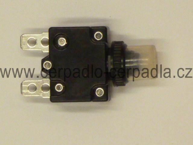 SIGI 40/60 M tepelná pojistka 6A, pro čerpadlo, pro rozběhový box (SIGI , BARACA, ORCA, tepelná pojistka)