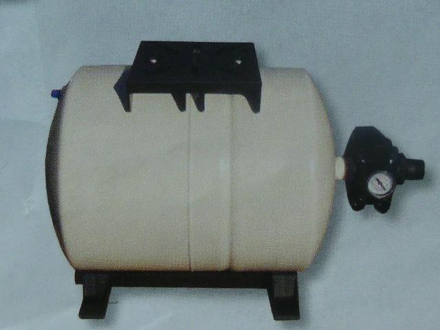 vodárenský set 60 litrů, horizontální tlaková nádoba PWB (vodárenský set 60 litrů, PWB60H)