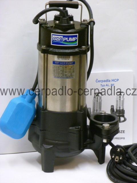 HCP kalové čerpadlo BF-05UNF 400V s plovákem (AKCE DOPRAVA ZDARMA, kalová čerpadla BF-05UNF)
