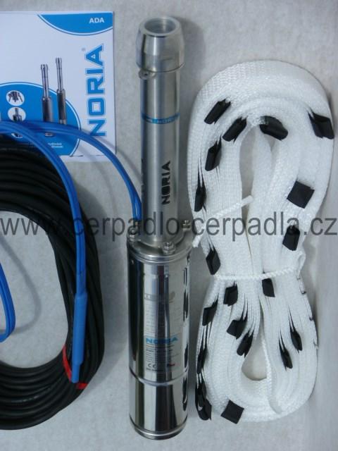 NORIA ADA4-80-16-N3, 400V, 25m, ponorná čerpadla, závěsné zařízení (ADA4-80-16-N3, AKCE DOPRAVA ZDARMA, vřetenové čerpadlo)