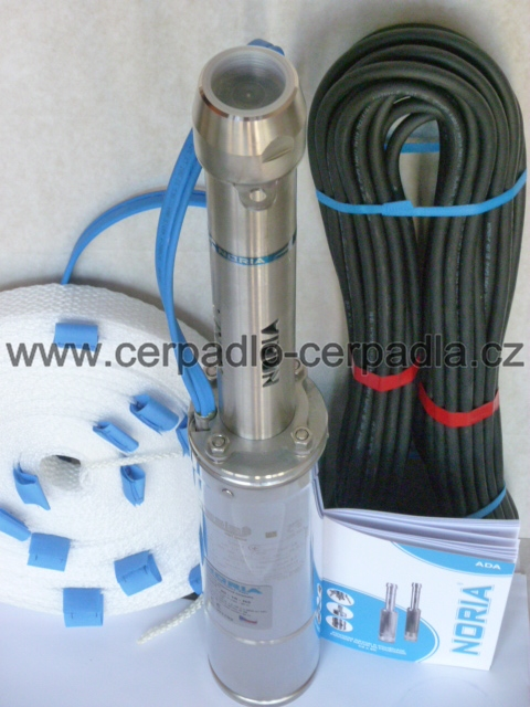 NORIA ADA4-80-16-N1, 20m, čerpadlo 230V (ADA4-80-16-N1, AKCE AKCE DOPRAVA ZDARMA)