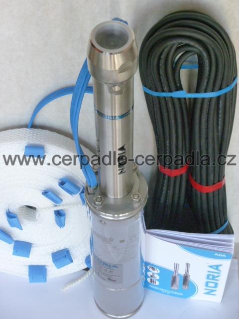 NORIA ADA4-80-16-N1, 30m, čerpadlo 230V (ADA4-80-16-N1, AKCE DOPRAVA ZDARMA)