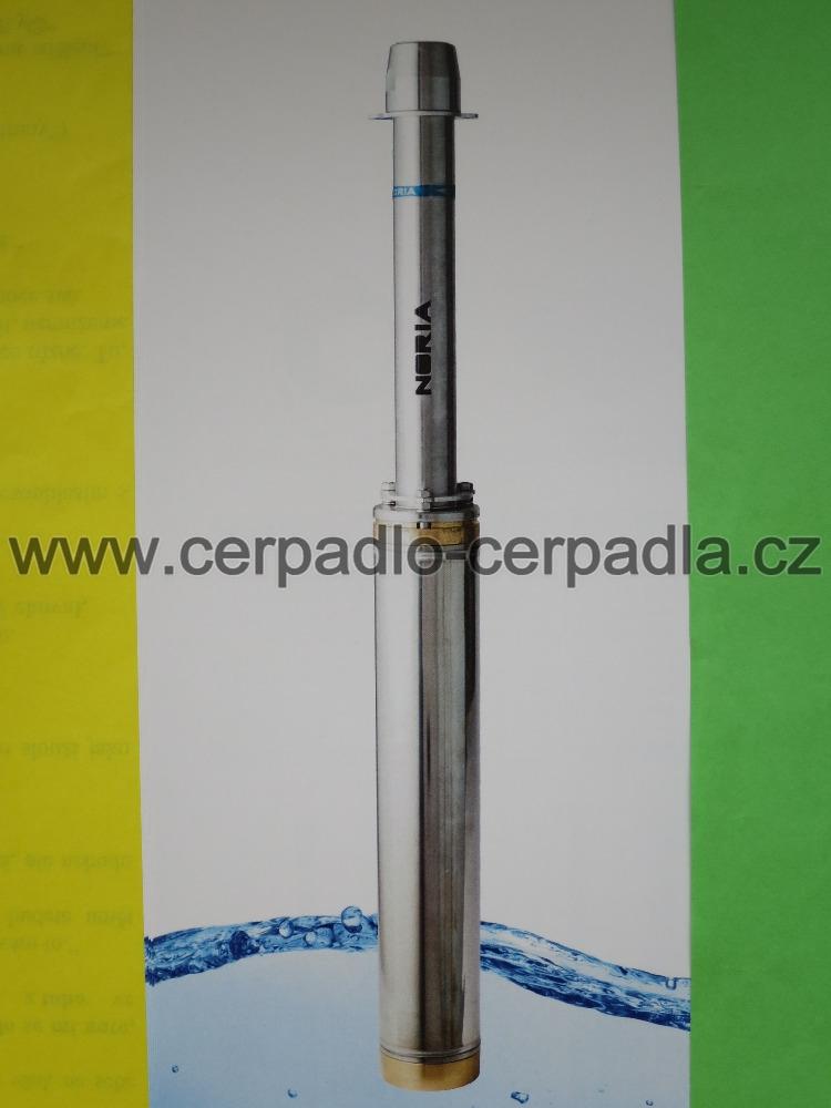 NORIA ADA3-80-10-N3, kabel 40m, čerpadlo 400V, závěsné zařízení (DOPRAVA ZDARMA, ponorná čerpadla NORIA ADA3-80-10-N3)