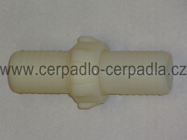 """Spojka na hadici 1"""", plast ARAG 25x25 (Spojka na hadici 1"""", plast pro kalové čerpadlo, kalová čerpadla )"""