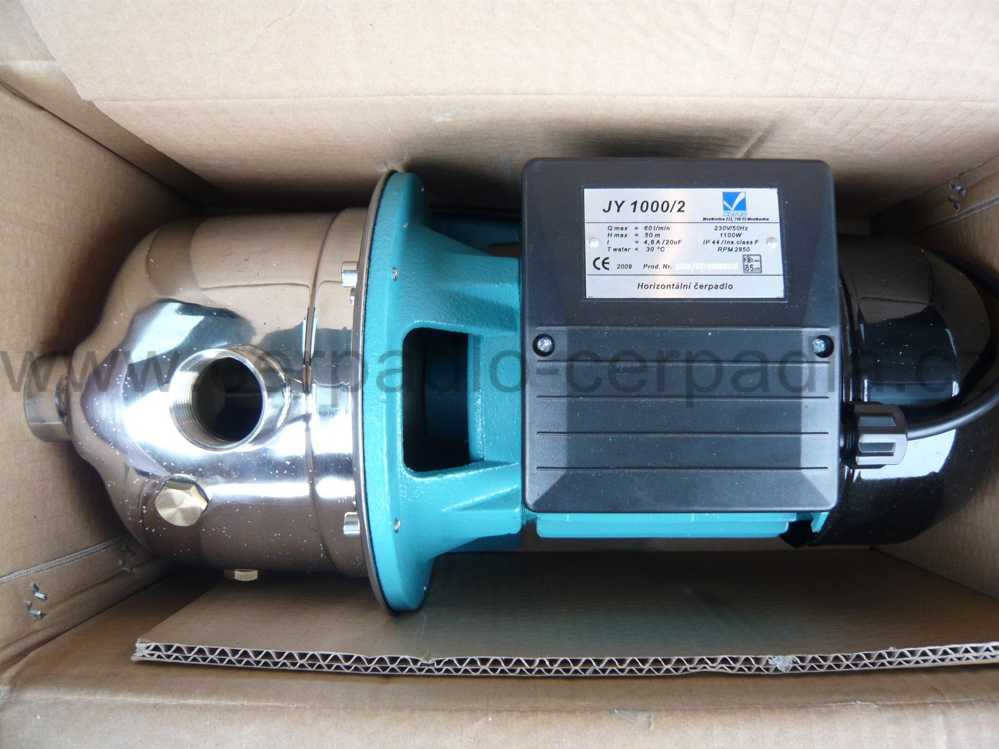 čerpadlo JY 1000 230V (JY 1000, Samonasávací čerpadlo)
