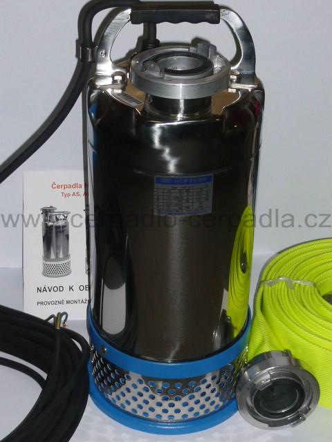 kalové čerpadlo 50ASH21.1 230V (hadice C52, AKCE DOPRAVA ZDARMA, kalová čerpadla 50 ASH 21.1)