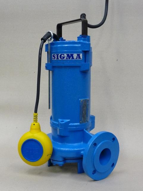 50-GFZU (SZ) 400V s plovákem, kalové čerpadlo, kalová čerpadla, Sigma (kalové čerpadlo, kalová čerpadla, Sigma 50-GFZU, GFZU-00006)