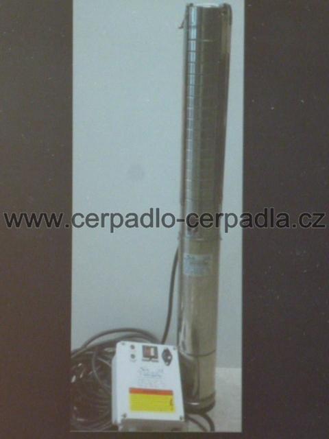 "Ponorné čerpadlo SETTE 4"" QUATRO, 230V, 15m kabel (ponorná čerpadla, SETTE QUATRO 4)"