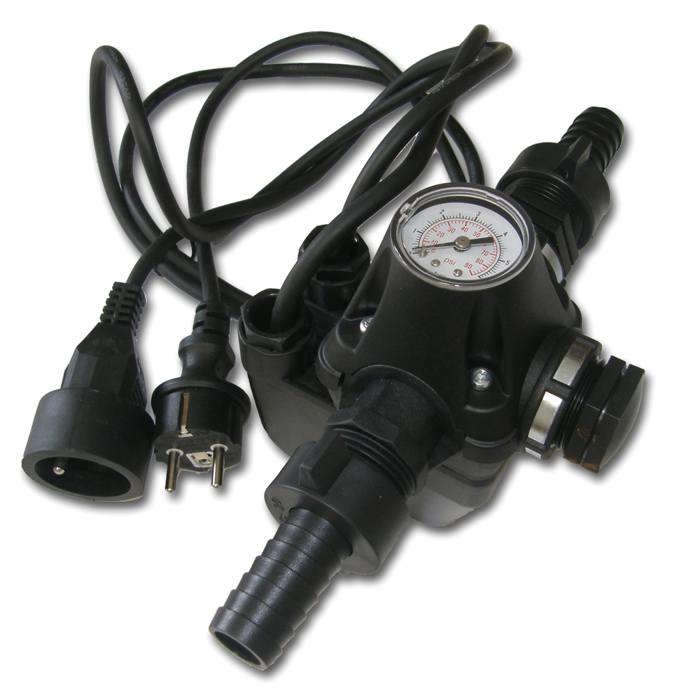 Domácí vodárna DV1, tlakový spínač, bez zpětné klapky (vodárna DV-1, Alfapumpy, pro ponorné čerpadlo Ruche, malyš)