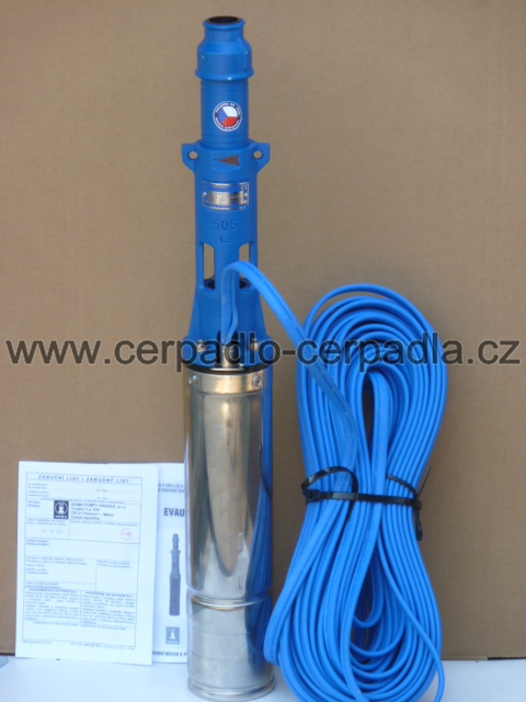 "čerpadlo 1"" EVAU-16-8-GU-072 400V, 25m kabel, dárek, EVAU-00003"