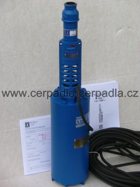 """Čerpadlo 1"""" EVGU-16-8-GU-082, 20 m kabel, EVGU-00005, dárek (1"""" EVGU-16-8-GU, ponorná v"""