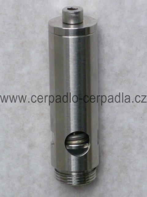kanalizační pojistný ventil 3/4 celonerezový 6-10 bar, pro Noria LUCA (Celonerezový kanalizační pojistný ventil NORIA)