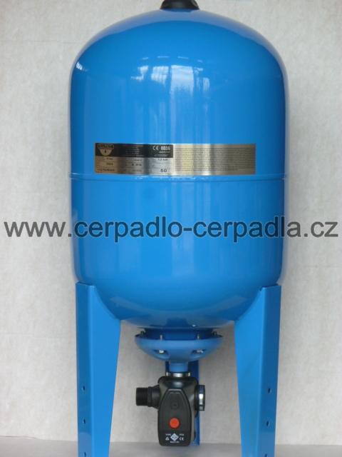 vodárenský set ZILMET ULTRA-PRO 50 L, tlaková nádoba, vertikální (tlakové nádoby ZILMET ULTRA - PRO 50, set)