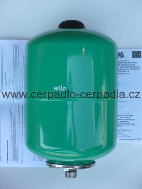 WILO TN 8L, tlaková nádoba, 2865647, tlakové nádoby (WILO TN 8L, tlaková nádoba pro čerpadla)