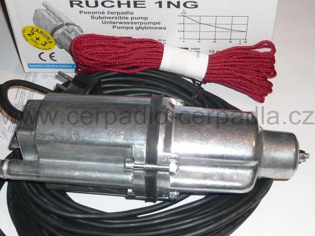 ponorné čerpadlo Ruche 1 NG, 15m (ponorná vibrační čerpadla RUCHE 1NG, jako čerpadlo malyš)