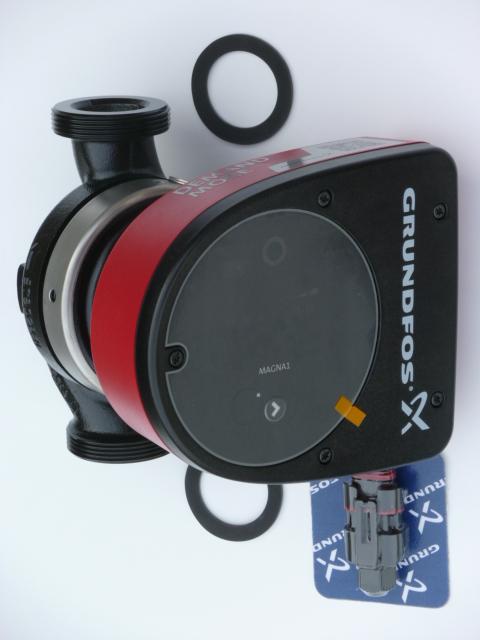 Grundfos MAGNA1 32-40 180 1x230V PN6/10, oběhové čerpadlo, 97924162 (oběhová čerpadla, MAGNA1 32-40, AKCE DOPRAVA ZDARMA)