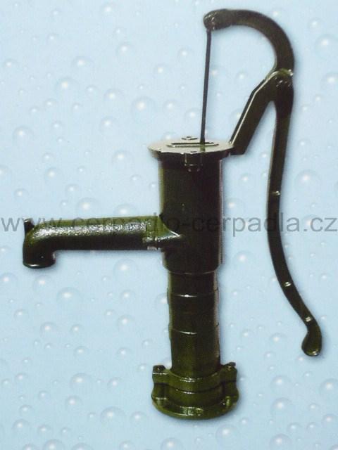 HP 75 , ruční pumpa, litinová, STANDARD, kopro (HP 75 KOPRO STANDARD, ruční pumpy)