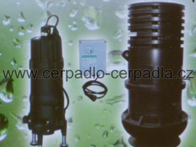 WILO WS 825 Set EM, 230V, přečerpávací jímka, 2865588 (WS 825 Set EM, Kompletní jímka, čerpadlo MTC 150, kalová čerpadla)