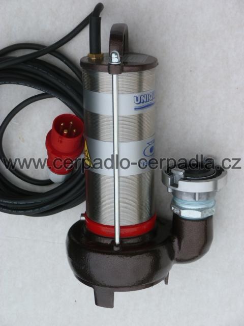 UNIQUA CESSPIT T14P 400V + přípojka C52, kalové čerpadlo (s plovákem, DOPRAVA ZDARMA, kalová čerpadla CESSPIT T 14 P)