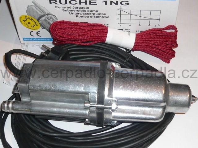 ponorné čerpadlo Ruche 1 NG, 25m (ponorná vibrační čerpadla RUCHE 1NG, jako čerpadlo malyš)