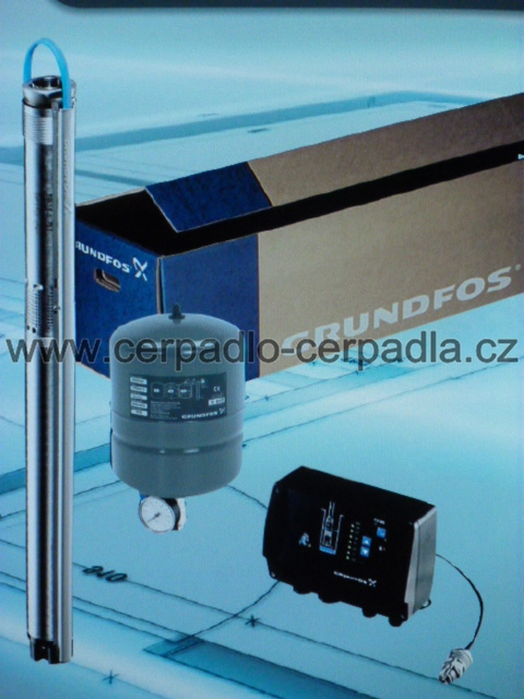Grundfos SQE 2-85 (kompletní sada, ponorné čerpadlo s 60m kabelem 96524506, DOPRAVA ZDARMA)