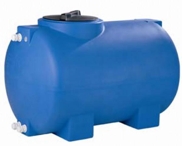 Povrchové nádrže z polyetylenu H 300 litrů , horizontální (nádrž z polyetylenu horizontální , ležatá)
