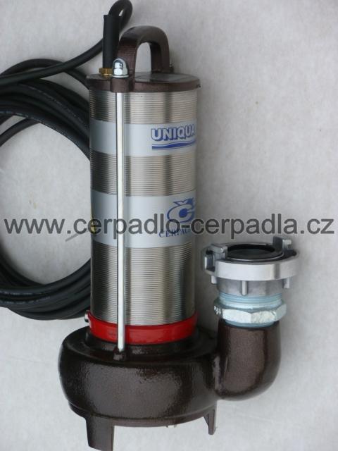 UNIQUA CESSPIT J14P 230V + přípojka C52 (čerpadlo s plovákem, AKCE DOPRAVA ZDARMA, kalová čerpadla, CESSPIT J14P)