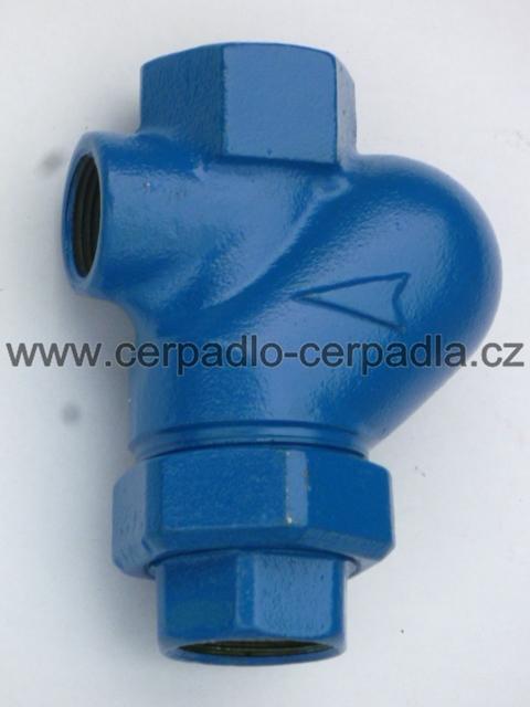 """1 1/4"""" EFRU kanalizační klapka 5/4"""" s koulí, originál SIGMA (zpětná klapka, pro čerpadla s řezacím zařízením, EFRU, LUCA...)"""