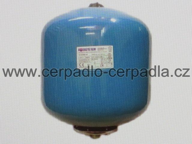 Aquasystem VAV 35 (tlaková nádoba Aquasystem VA 35, s vakem, stojatá, vertikální, tlakové nádoby)