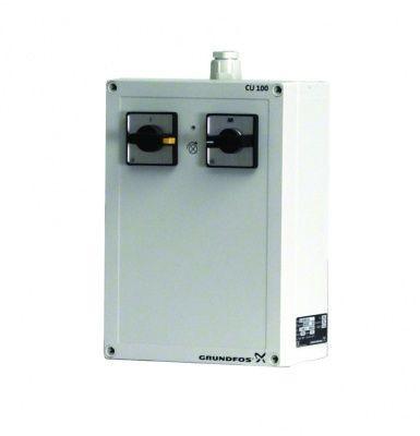 Grundfos CU 100.400.3.5A, řídící jednotka s plovákovým spínačem, 96914019