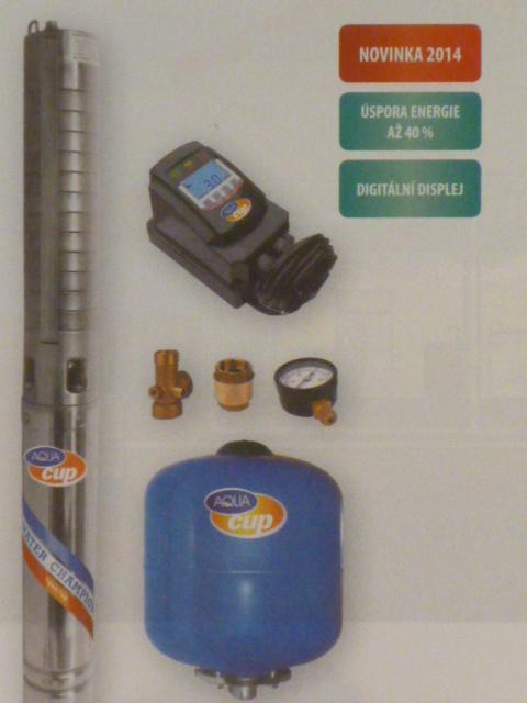 """ECONOMY SUB CONTROL 80/72, domácí vodárna, čerpadlo 4"""" (čerpadla ECONOMY SUB CONTROL 80/72 230V)"""