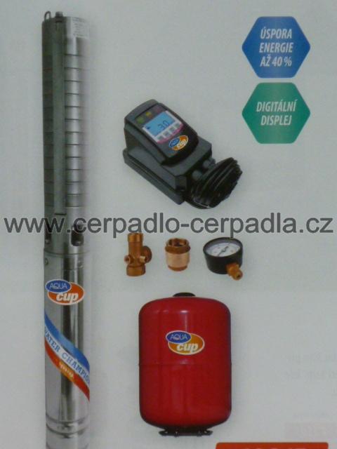 ECONOMY SUB CONTROL 70/92 INOX (25m kabel, čerpadla ECONOMY SUB CONTROL 70/92, frekvenční měnič, DOPRAVA ZDARMA)