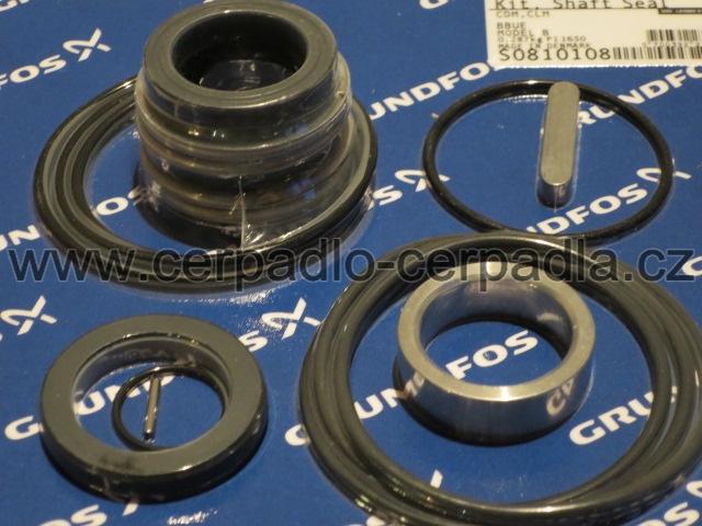 mechanická ucpávka, pro Grundfos CR 5, HQQE, 96455086 (mechanická ucpávka HQQE, 96455086)