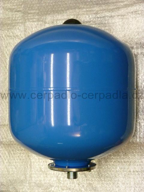 Pumpa SM-V 35/10 (vertikální tlaková nádoba 35l 10bar, 1'', tlakové nádoby s pryžovým vakem PUMPA, jako AQUAMAT V 35/10)
