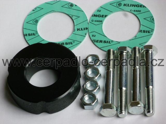 mezipříruba DN 40-30mm, PN 6, mezikus, 110586593 (Vyrovnávací kus pro čerpadla WILO 40-..., DN