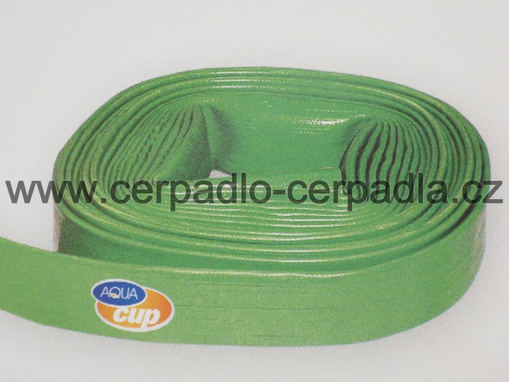 "Hadice TRIX 6/4"", 10 m, zelená barva, 3 bary, DN 40 (placatá hadice 6/4"")"