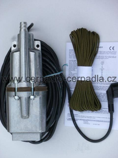ponorné čerpadlo RUCHE 2T , 10m kabel (ponorná vibrační čerpadla RUCHE 2, jako čerpadlo malyš, Ruche 1 NG)